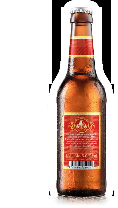 ZMB Web Flasche Matterhorn 33cl back generic Zermatt Bier | Zermatt Matterhorn Brewery