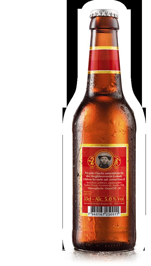 ZMB Web Product Matterhorn Back Zermatt Bier | Zermatt Matterhorn Brauerei AG