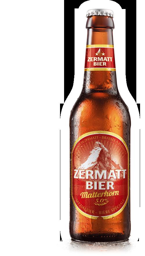 ZMB Web Product Matterhorn Front Zermatt Bier | Zermatt Matterhorn Brauerei AG