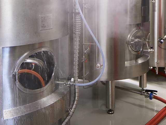 Lagertanks Zermatt Bier | Zermatt Matterhorn Brewery