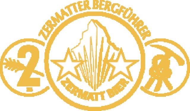 Zermatt-Bier-Bergfuehrer-Emblem Zermatt Bier | Zermatt Matterhorn Brauerei AG