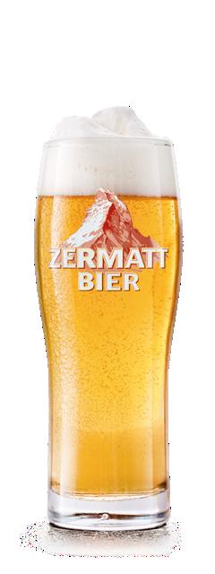 ZMB Glas Zermatt Bier | Zermatt Matterhorn Brewery